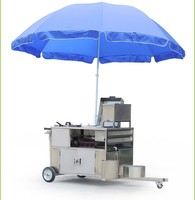 Cosbao mobile hot dog vending cart for sale BN-617