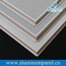 585x598mm Lay-in Tile Aluminum Ceiling Board For False Ceiling Design