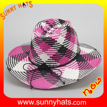 SHL-1830 alibaba online shopping wholesale straw fedora hat making