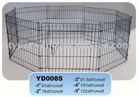 folding metal pet barrier playpen pet enclosure play pen