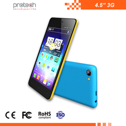 new 2016 smart phone SC7731 4.5inch phone 3G Smartphone 4.5 inch new launch mobile phone
