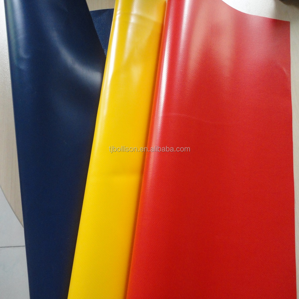 500gsm Glossy or Matte PVC Coated Polyester Fabric Tarpaulin For Awning / Truck Cover 1000D *1000D