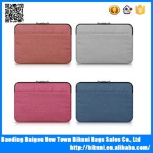 Hot sale fashion waterproof nylon 15.6 inch laptop sleeve anti shock