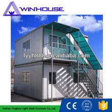 Prefabricated Container Flat Pack House With 3 Bedrooms