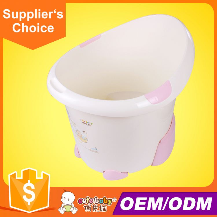 2016 hot sale plastic children bath baby bath bucket thermometer