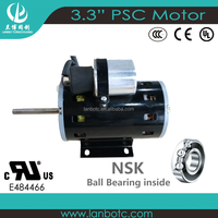 Different Models of 4 Pole Electric 3.3 Inch Motor 1500 RPM / Small AC Fan Motor ODM