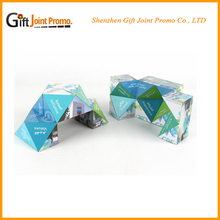 Cheap Picture Advertising Folding Megnetic Magic Cube