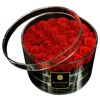 Round Flower Box Clear Acrylic Rose