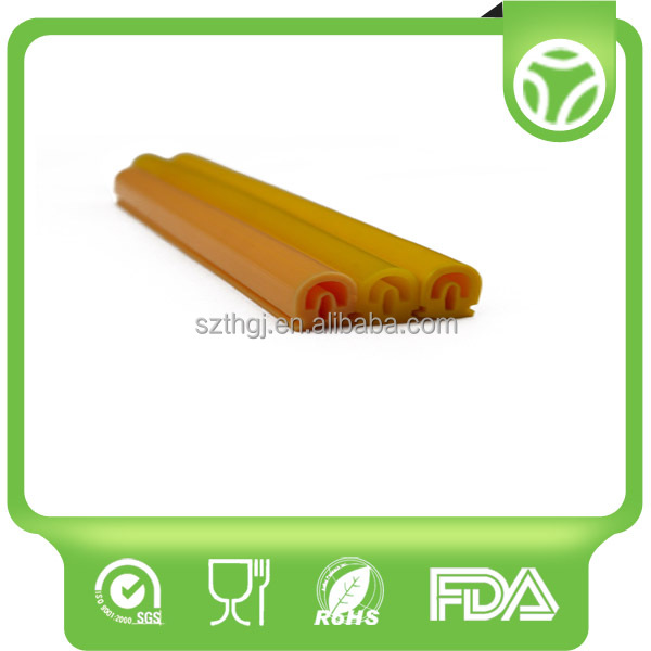 Rohs Certification Silicone Rubber Strips extrusion seal strip with high quality