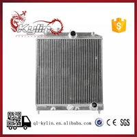 kylin racing Heat Auto PA66-GF30 Aluminium Heating Car Radiator