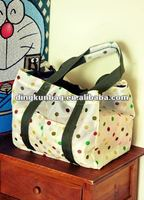 2012 hottest 210T polyester fashion foldable bag for shopping