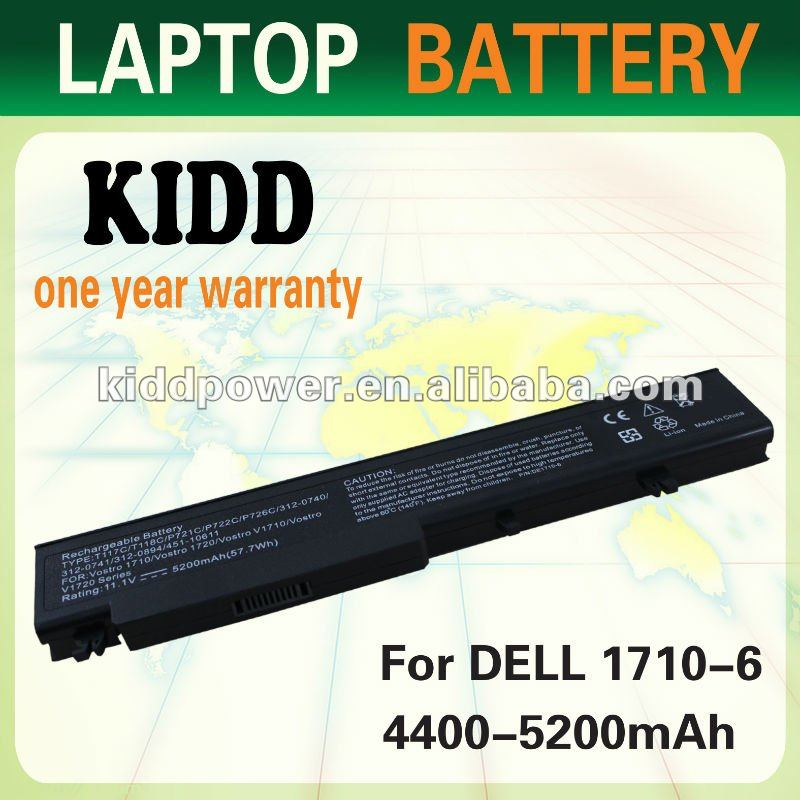 laptop battery for dell Vostro 1710 battery for dell Vostro 1720 battery