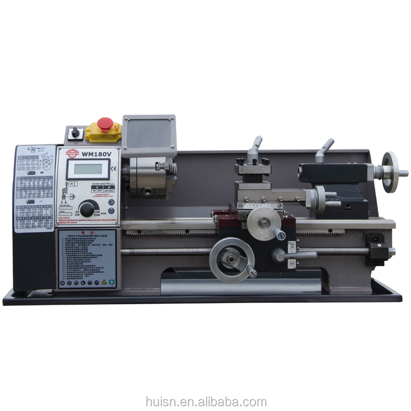 mini bench lathe WM180V with CE quality