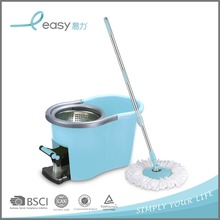 Convenient to Carry Plastic 360 Spin Mop Bucket to Wash and Dry