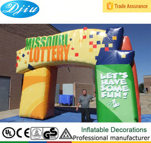 DJ-GM-29 new design inflatable arch advertising promotion item china suppliers