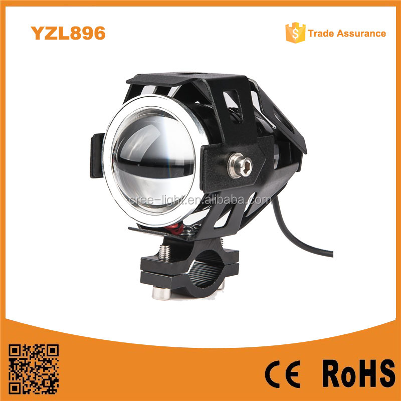 2015 High Quality Waterproof 25w 1500lm 12V-80v Transformers U7 CRE LED Snowmobile Motorcycle Headlight Laser Light