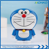 Best Travel Gift Best Selling Products Lovely Doraemon Cartoon Power Bank