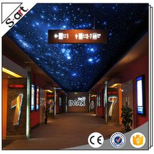 Super quality colorful sky design wallpaper 3d mural for ceiling
