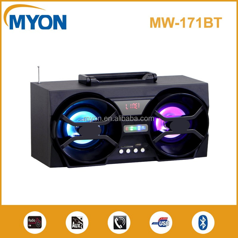 Made in China speaker cheap supplier portable bluetooth sound system wireless rechargeable speaker