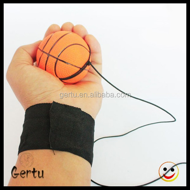 hot sales kid playing wristband rubber balls