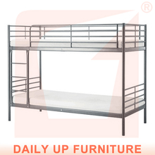 Durable Metal Bunk Bed Price School Dormitory Student Bunk Bed Steel Army Double Bunk Bed with Mattress Manufacturer