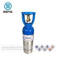 Reliable China Supplier Small Portable Oxygen Cylinder Aluminum Gas Tank Medical Aluminum Cylinder