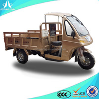 new Chongqing ZONLON 200cc tricicle with semi closed cabin