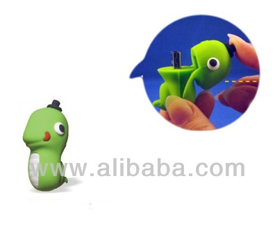 Snake USB Flash Drive, USB memory stick, USB flash disk, pen drive, Promotional Gifts (Green)