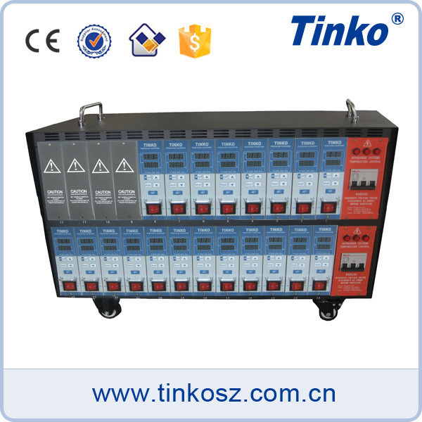 TINKO 20 Zone Plastic Temperature Controller Injection Molding Machine Hot Runner Controller for Packing Mold