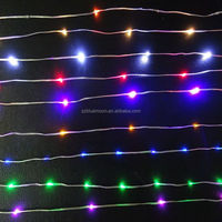 Super led curtain string light CE&ROHS christmas/holiday/wedding decoration