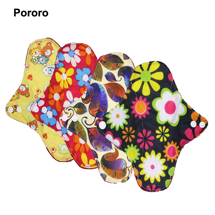 Waterpoof Cloth Menstrual Pads Ladies Sanitary Napkin