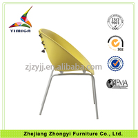 China supplier brand steel tube 100% new polypropylene plastic waiting room chairs