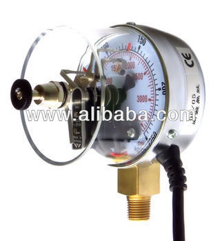 Electrical Contact Pressure Gauges, Pressure Switches, Contact Pressure Gauges, Contact Manometers