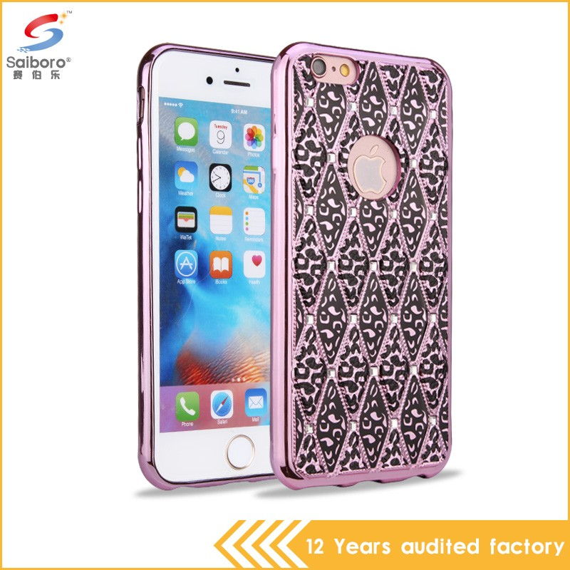 Heavy Duty Shockproof low moq gorgeous for iphone 6 covers for girls