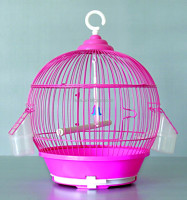 Pet Classic Round Bird Cage Red Birdcage Pet Birds Cages Small
