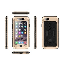 New style Danycase for iphone 6 aluminum silicon ultra thin shockproof waterproof case