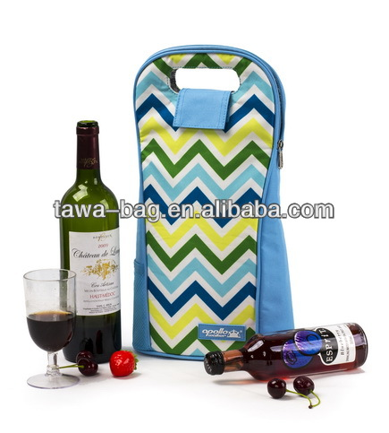 2 Bottle Insulated Wine Cooler Bag in Box