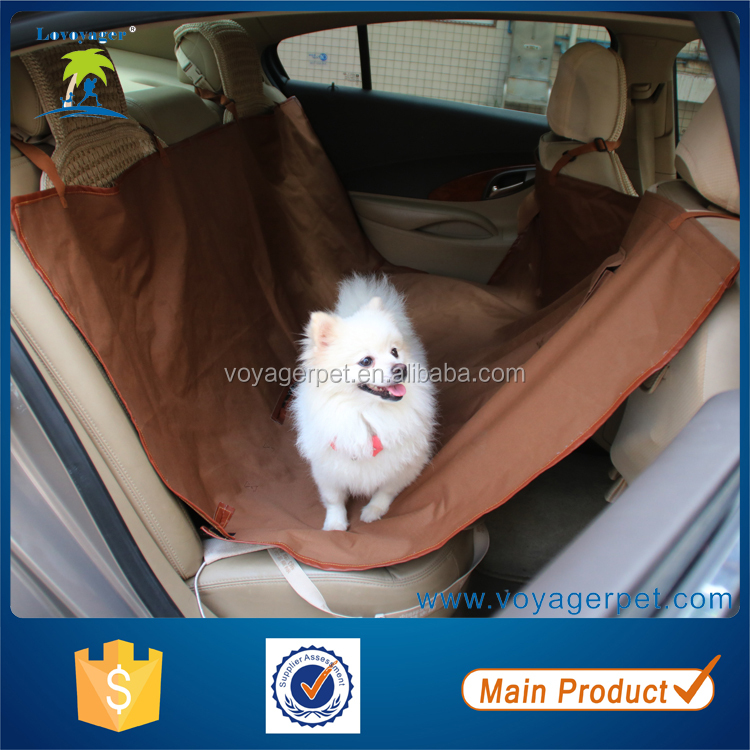 Lovoyager Hot Selling Foldable Waterproof Nylon car seat cover pet hammock car seat cover for dog