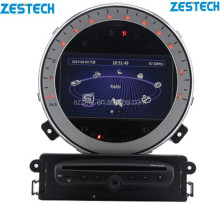 Zestech mini original menú dvd car player para bmw mini cooper, mini Smart, rover mini r55 r56 r57 r58 r59 r60 mini hombre país