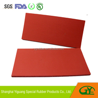Battery separator silicone foam pad for hybrid power vehicle