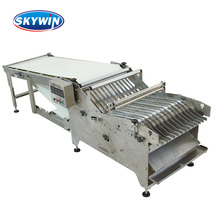 SKYWIN 2017 Biscuit Making Production Line Rice Biscuit Star wheel Stacker