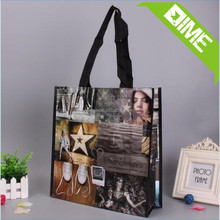 China Promotional Cheap Customized Foldable Laminated Eco Fabric Custom Shopping Non Woven Bag