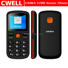 UNIWA V708 1.77 Inch Dual SIM Card Big Button SOS Function Senior Phone