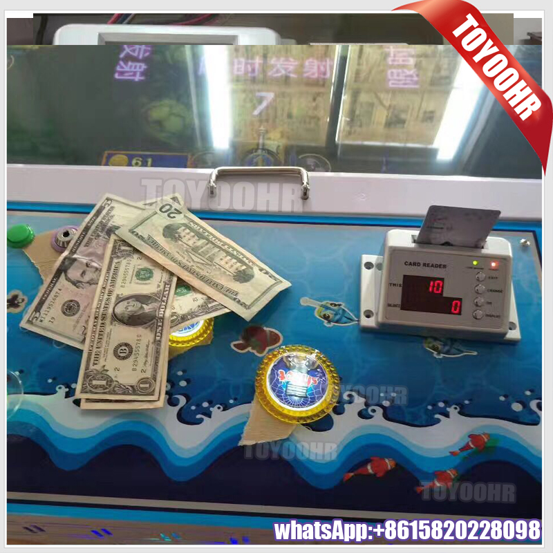 Toyoohr Hot sale Seafood Paradise Plus 3 Arcade Gambling Video Table Hunter Fish Cheat Fishing Game Machine