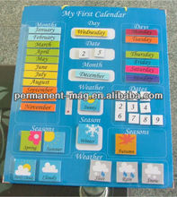 2014 magnetic schedule / promotional magnetic calendars / fridge magnet