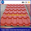 Construction Materials Shingles Glazed Color Steel Roof Shingles