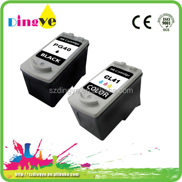 factory direct supply refillable ink cartridges for canon pg-40 cl-41 for PIXMA iP1180 PIXMA iP1880