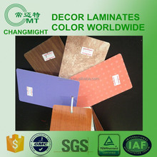 HPL-COFFE laminated sheets/plain color Formica 1300*2800
