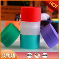 silicone container for wax oil & food grade silicone container
