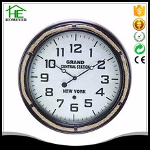 Chinese giant round retro black different type of wall clock